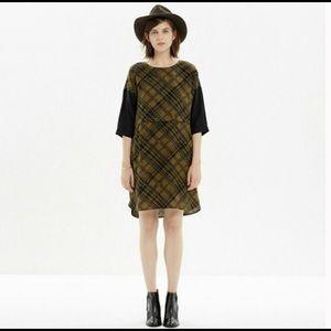 MADEWELL SILK BLEND DRESS